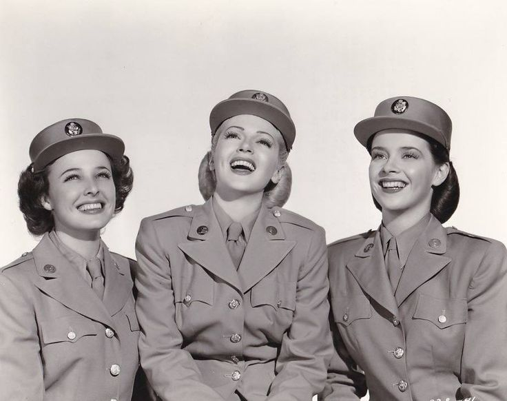 Laraine Day, Lana Turner and Susan Peters - Keep Your Powder Dry(1945) -