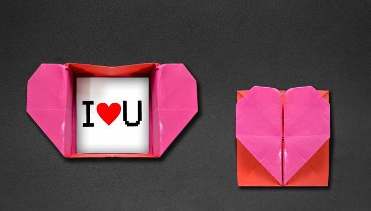 Origami: Heart Box & Envelope                                                                                                                                                                                 Mais
