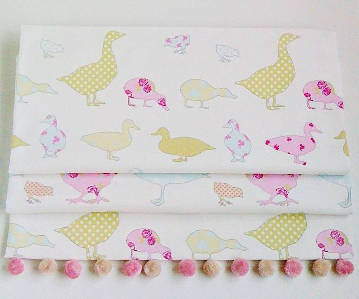 ducks & chicks blackout roman blind by the nursery blind company | notonthehighstreet.com