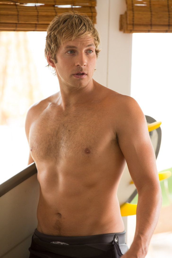 Pin for Later: Best of 2014: The Sexiest Pictures From the Big Screen Veronica Mars Dick (Ryan Hansen) may not be the smartest dude, but we are impressed by his fine form.