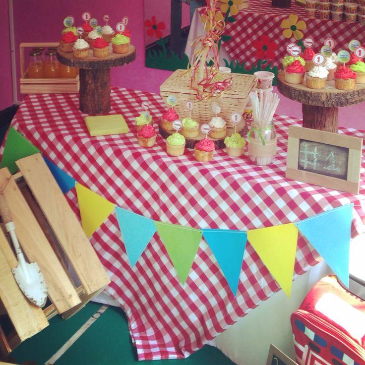 Mesa principal picnic