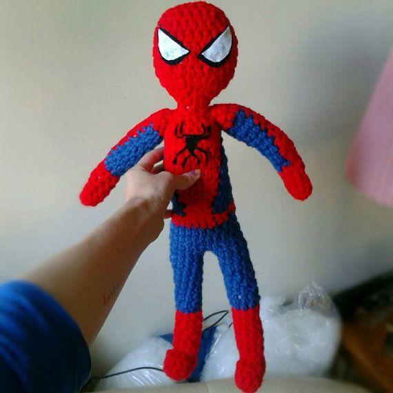 Free Spiderman Amigurumi Crochet Pattern : 17 Best images about Amigurumi on Pinterest Free pattern ...