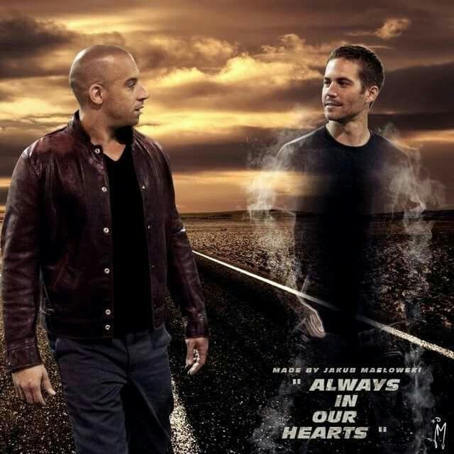 Vin Diesel & Paul Walker two of my favorite Actor