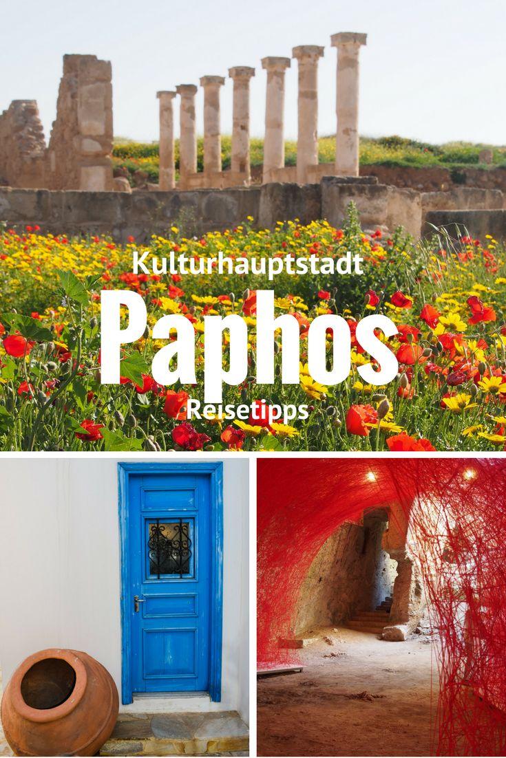 Paphos auf Zypern - glasklares Wasser, sonniges Wetter und gemütliche Bars. Das sind meine Reistipps für die Kulturhauptstadt 2017.