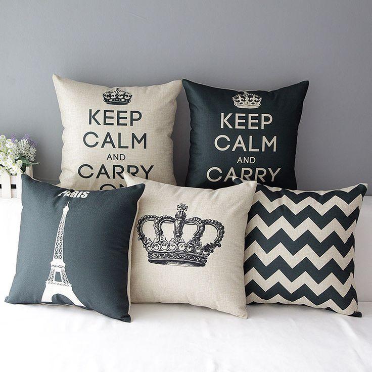 crown- Almofadas decorativas