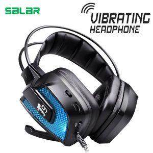 Salar T9 Noise Canceling LED Changing Gaming Headset
