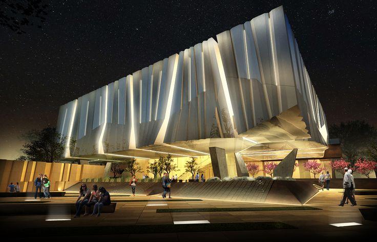 Gallery - Alajajian Marcoosi Architects Propose Armenian American Museum for California - 2
