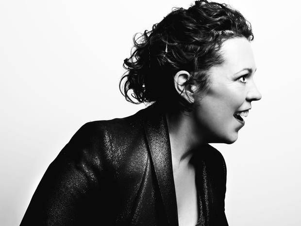 Olivia Colman portrait by Idil Sukan