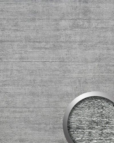 Selbstklebende Tapete F?r T?ren : Blickfang Deko selbstklebende Tapete grau 2,60 qm ? Bild 1