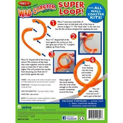 Knikkerbaan Super Loop - Wall Coaster