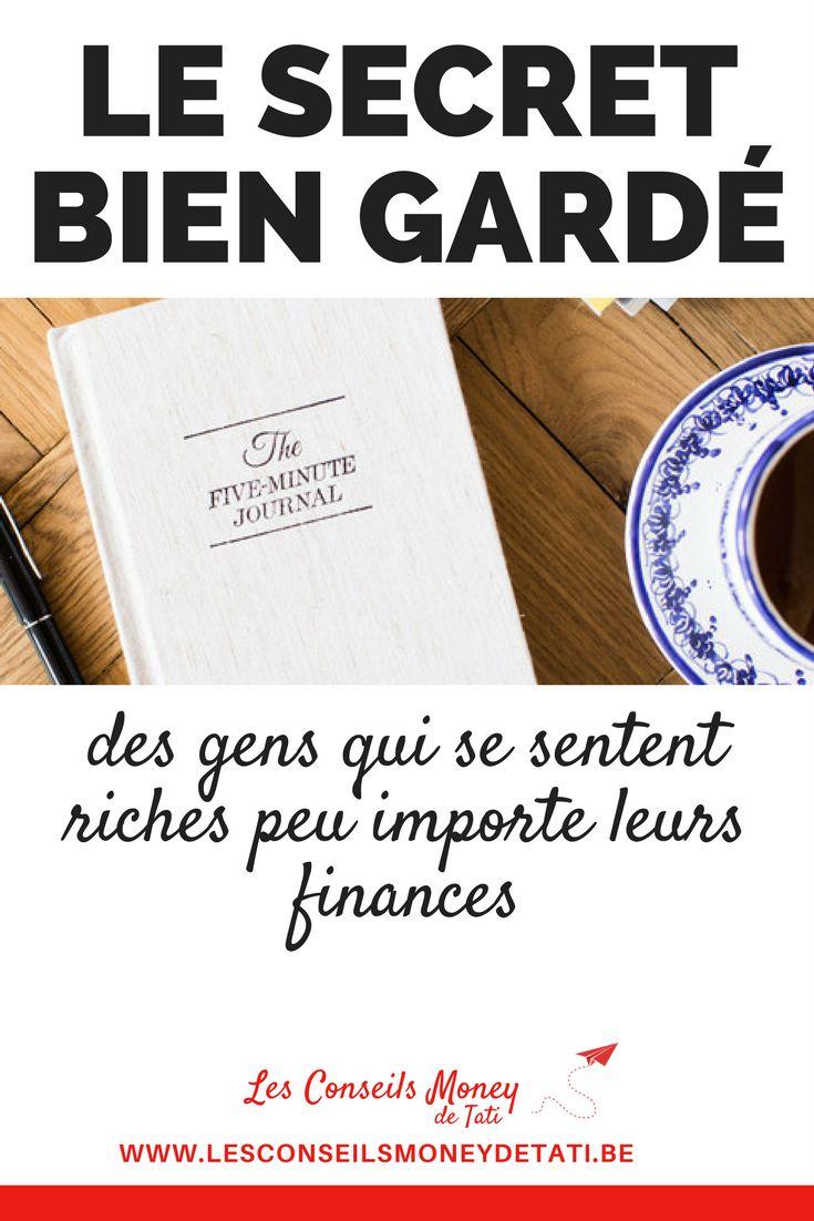 Argent & gratitude - Le secret bien gardé des gens qui se sentent riche peu importe leurs finances - www.lesconseilsmoneydetati.be