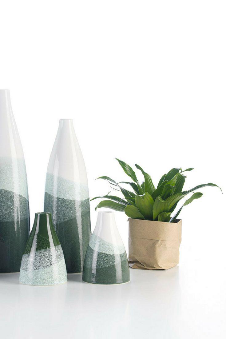 Piana - decorative vases with watercolor effect @arfaiceramics   #interiors #ceramics #interiordesign #homeaccessoriess