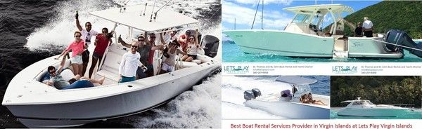 St. Thomas Luxury Boat Rentals and St. Thomas Fishing Charters – Book from Let's Play Virgin Islands