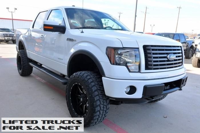 2012 Ford F150 FX4 SuperCrew EcoBoost Lifted Truck