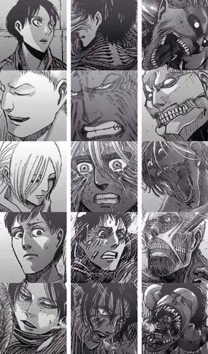 Attack on Titan wow that just got spoiled for me LOOOL