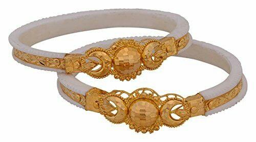 Bridal gold bangles design