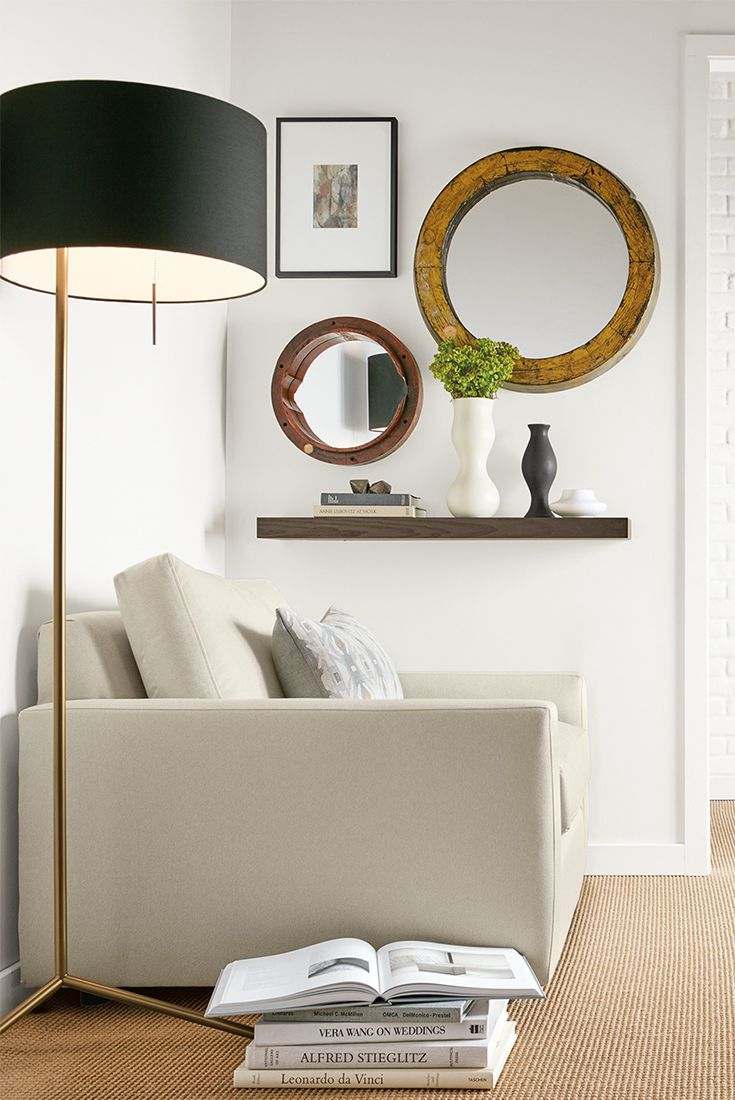 The perfect companion to your sofa or reading chair, the Crane lamp is a modern take on the classic reading lamp.