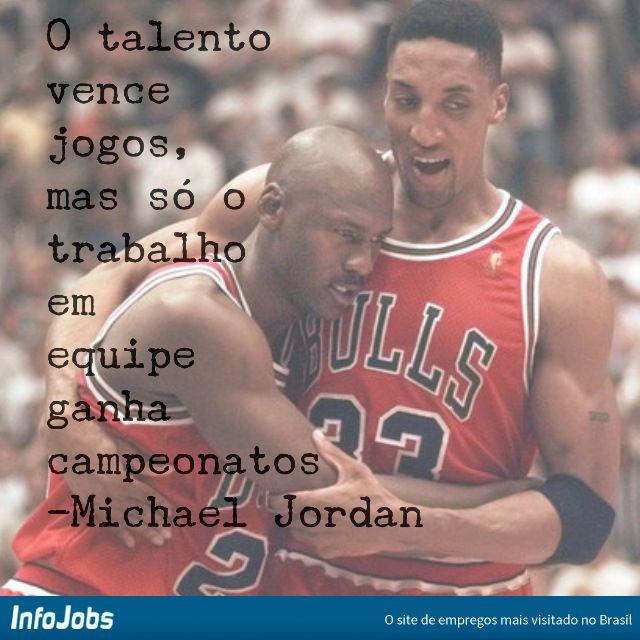 O talento vence jogos, mas só o trabalho em equipe ganha campeonatos. #infojobs…