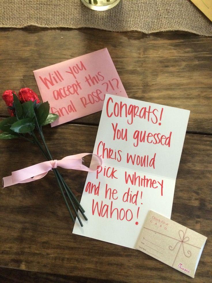 Bachelor Finale + Bachelor Bracket Winner Gifts   Carolina Lifestyle