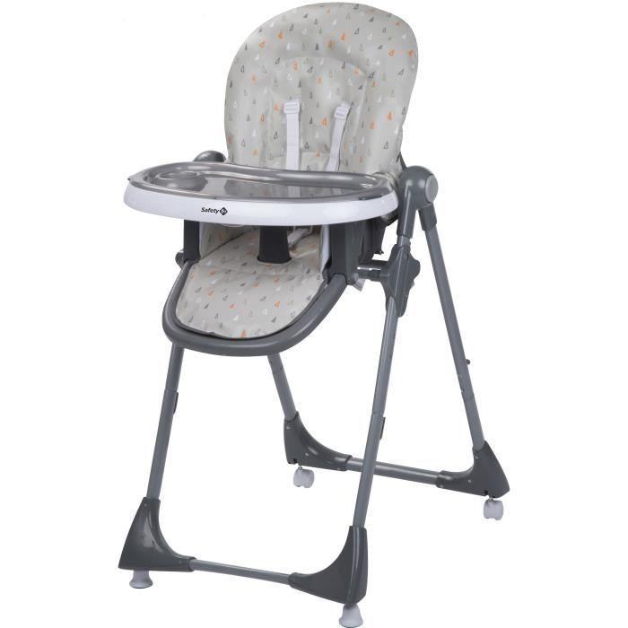 Safety 1st Chaise Haute Multi Positions Kiwi Warm Grey Chaise Haute Enfant Chaise Et Siege De Table Bebe