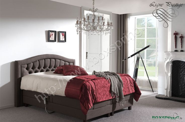 lit boxspring versailles lectrique de grande qualit avec t te de lit baroque grand luxe ce. Black Bedroom Furniture Sets. Home Design Ideas