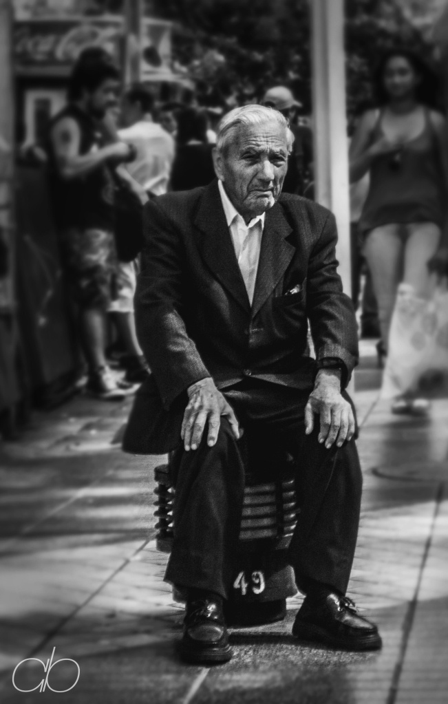 Old Man – Santiago, Chile