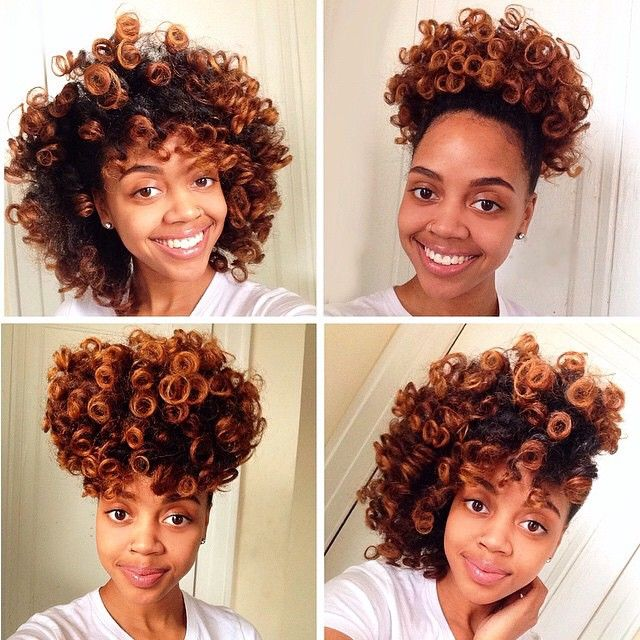 ways to style transitioning hair 1000 ideas about perm rod set on 3607