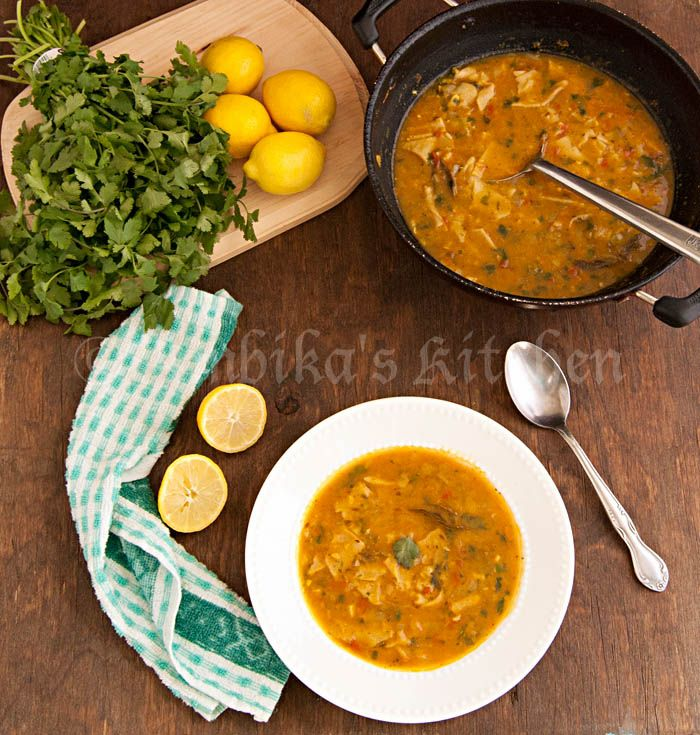 Dal Dhokli - A lentil soup with fresh, homemade wholewhat pasta ...