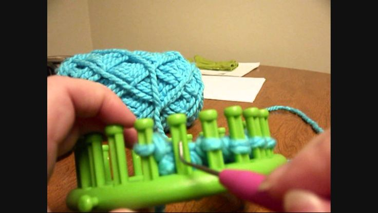 Loom Knitting - Casting Off Without Closing the End (non-drawstring)