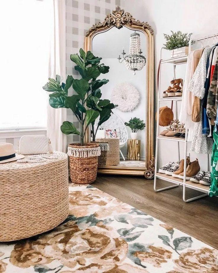 80+ Beautiful Hippie Bedrooms Ideas Features #hipp…