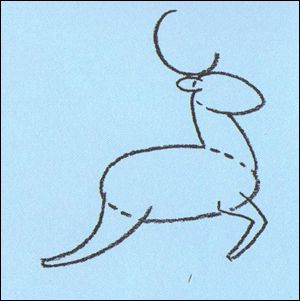 great how to for kids to draw a rain deerpulling santas