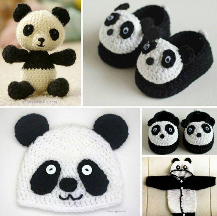 Amigurumi Panda Free Pattern : Top 65 ideas about Crafts on Pinterest Free pattern ...