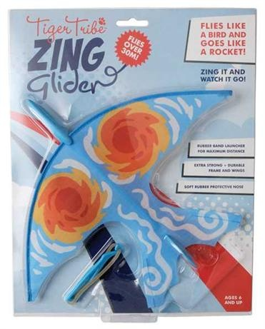 Boys gifts online - Tiger Tribe - Hurricane Zing Glider  $14.95 . Boys gifts online - Tiger Tribe