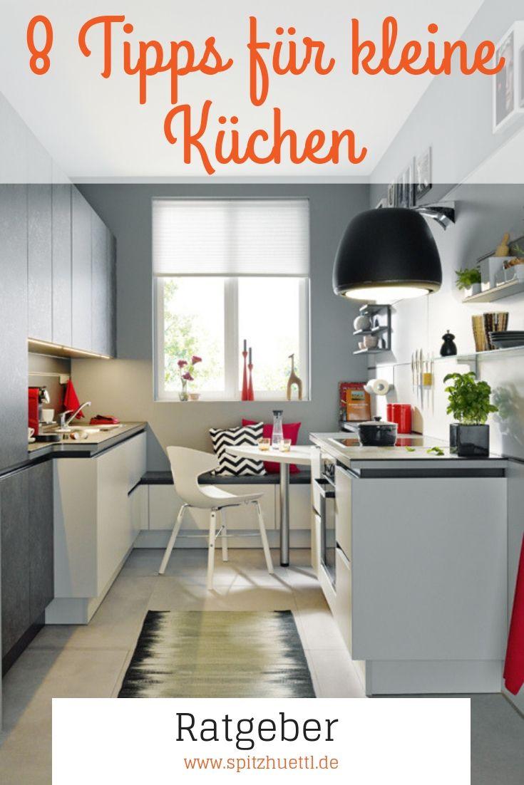 8 Tipps für kleine Küchen | Wohnung küche, Kleine küche und ...