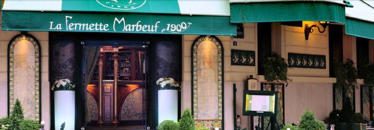 Avis de fréquentation de la Fermette Marbeuf, 5 rue Marbeuf 75008 PARIS, Paris