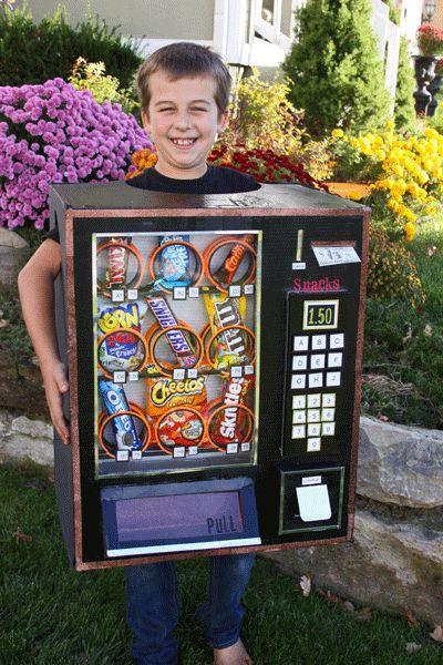 My Studio Pink: Vending Machine Costume