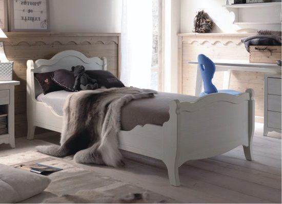 Scandola mobili letto singolo tabi abete scandola for Falegnameria trentini