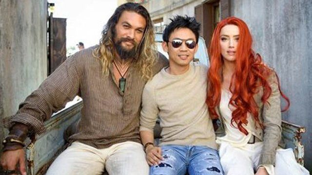 Check out this shot from the Aquaman movie set. The Aquaman movie set is in Australia.