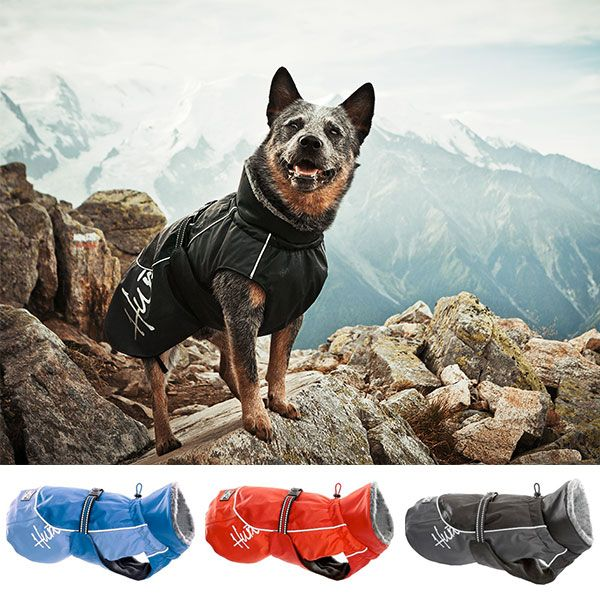 Protect your dog from winter's worst with Hurtta America's Winter Dog Jacket. Built out of wind- and waterproof material, this jacket warms and protects your dog's main muscle groups.