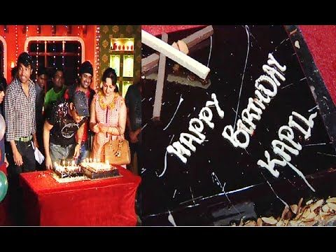 Kapil Sharma celebrates his birthday with the team of COMEDY NIGHTS WITH KAPIL.