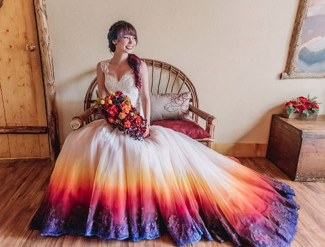 Quirky wedding dress