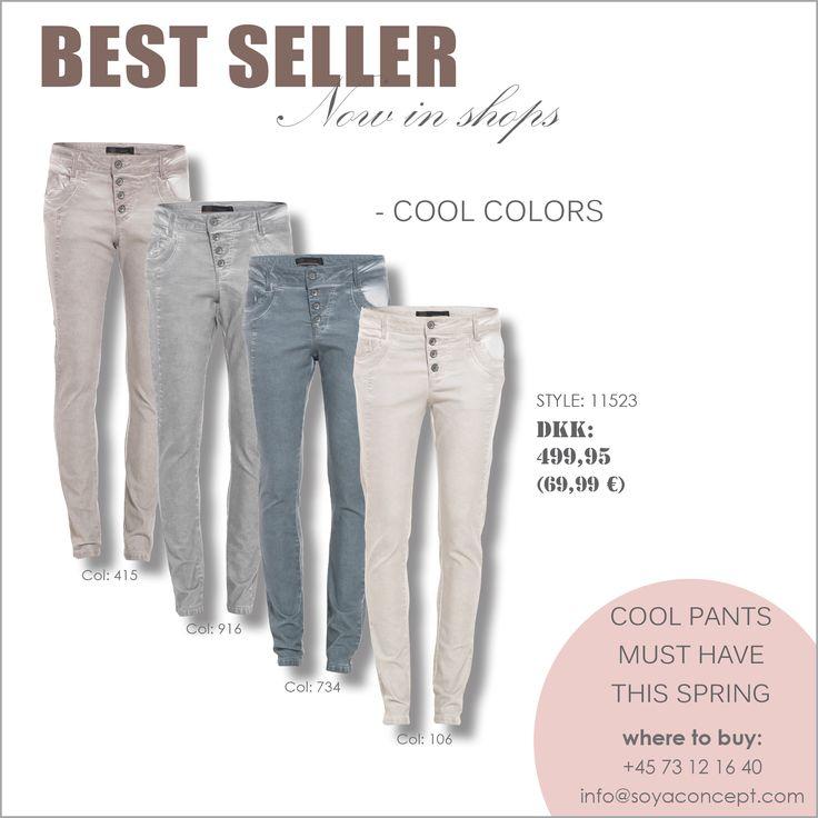 soyaconcept - pants - jeans