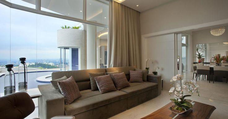 Sala De Estar Com Sofa Marrom ~ sala de estar com sofá marrom estar vários sofá marrom sala de tv