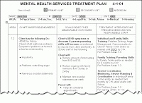 """Developing Treatment Plans: The Basics by @Jonathan Singer < """"The key to good treatment planning is making sure that there is a clear and logical relationship between your assessment, problem formulation, goals, objectives and interventions."""" [link to podcast interview and transcript]"""
