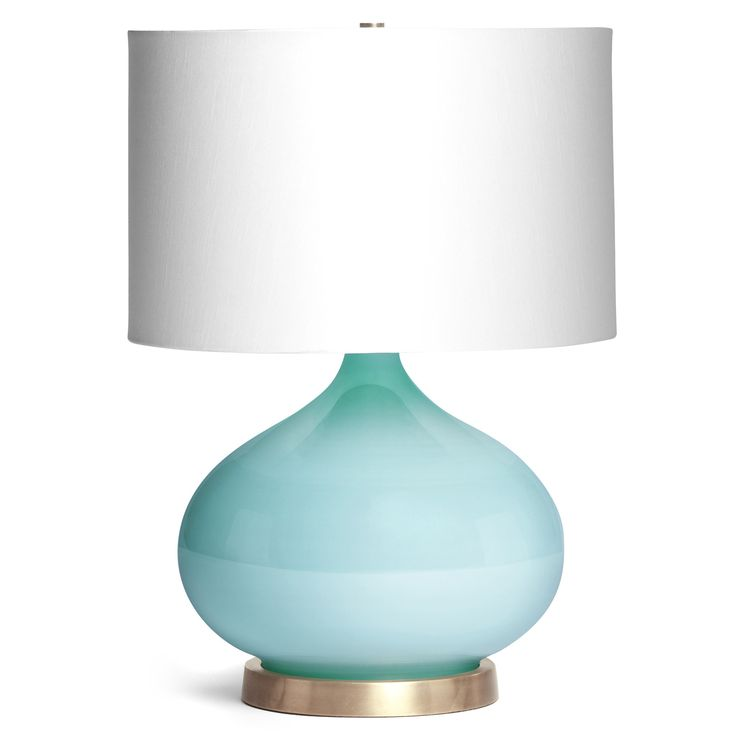 Candace Turquoise Table Lamp