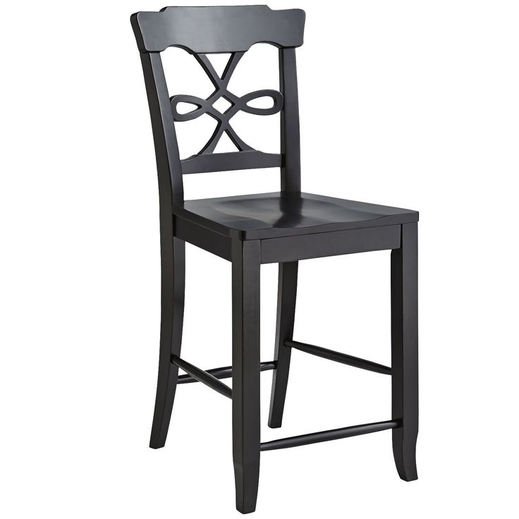 Evonne Counterstool Rubbed Black Pier One Stool