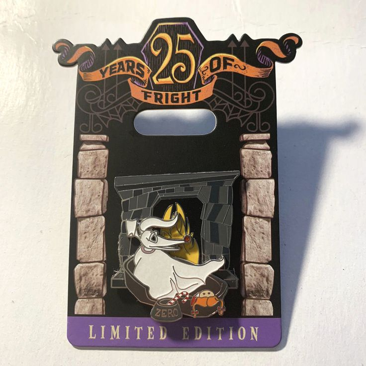 Disney Collector Pin Nightmare Before Christmas 25 Years