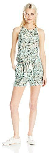 Roxy Junior's Hooked on a Feeling Woven Romper