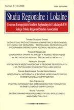 Wydawnictwo Naukowe Scholar :: :: 2004 STUDIA REGIONALNE I LOKALNE nr 1(15)