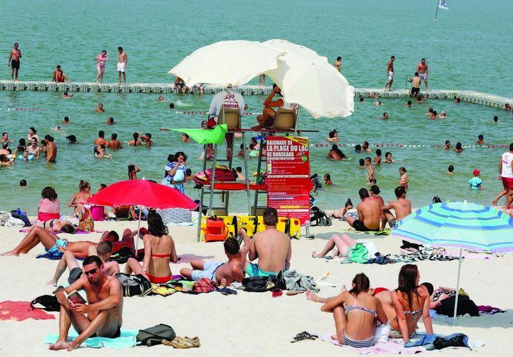 Piscines, lacs et plages urbaines en Gironde : où prendre le frais cet été ? - SudOuest.fr